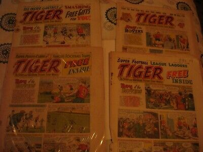 TIGER COMICS 1959 29off • 89.99£