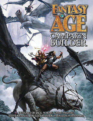 Fantasy Age Builders Guide Hc • 58.99£