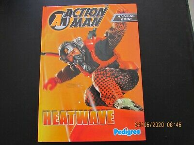 Action-man Annual   2002  Very Good  For Age • 2.50£