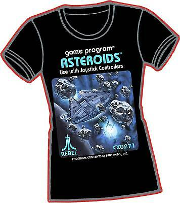 Millennium Asteroids T Shirt Ladies Xxl • 26.99£