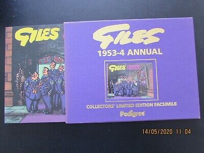 Giles   1953-4  Annual  Collector's Limited Edition Facsimile   Mint  • 5.99£