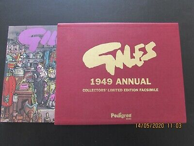 Giles   1949  Annual  Collector's Limited Edition Facsimile   Mint  • 6.99£