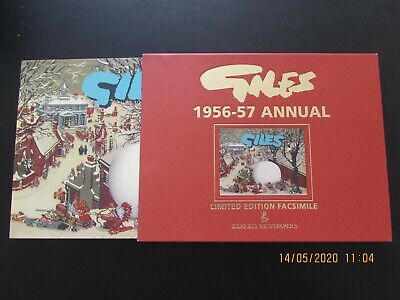 Giles   1956-7  Annual  Collector's Limited Edition Facsimile   Mint  • 5.99£