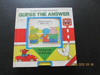 Magic  Picture Book  Guess The Answer   Good For Age • 2£