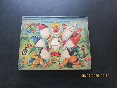 SNOW   WHITE  POP-UP  BOOK  FROM  1940/50s   GOOD FOR AGE • 2£