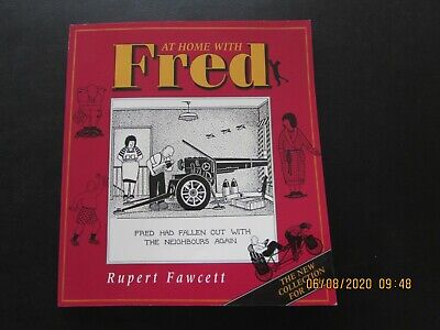 At Home  With  Fred   Cartoon Book   1996    Very  Good For Age • 2£