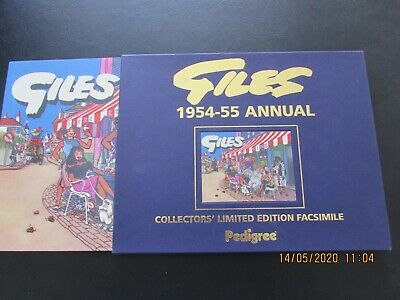 Giles   1954-5  Annual  Collector's Limited Edition Facsimile   Mint  • 6£