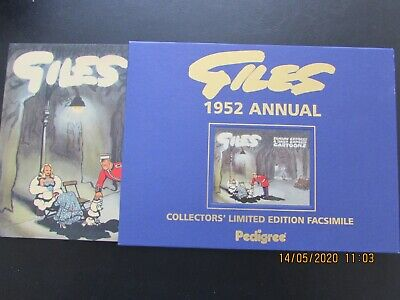 Giles   1952  Annual  Collector's Limited Edition Facsimile   Mint  • 6£