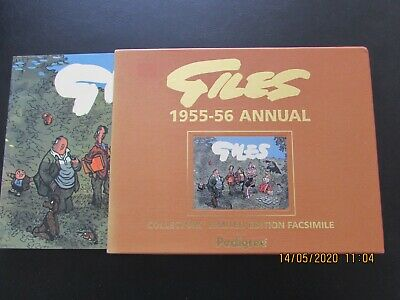 Giles   1955-6  Annual  Collector's Limited Edition Facsimile   Mint  • 6£