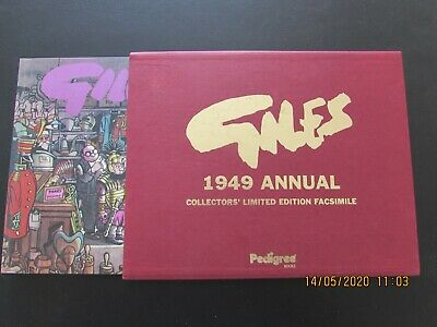 Giles   1949  Annual  Collector's Limited Edition Facsimile   Mint  • 6£