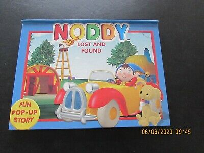 NODDY  LOST  And  FOUND  POP-UP  BOOK  FROM  VERY   GOOD FOR AGE • 2£