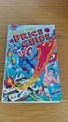 #10 OVERSTREET COMIC BOOK PRICE GUIDE 10 ANNIVERSARY ISSUE 1980 Hard Back Rare! • 15.95£