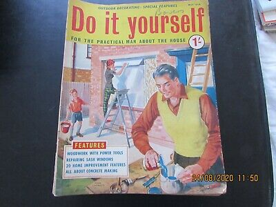 Do   It   Yourself  Mag    May  1958  Good For  Age   • 1.30£