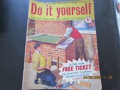 Do   It   Yourself  Mag    September   1958  Good For  Age   • 1.30£