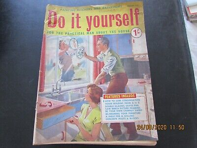 Do   It   Yourself  Magazine      February    1959  Good For  Age   • 1.30£