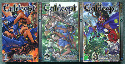 Culdcept Volumes 1-3 Manga • 7.50£