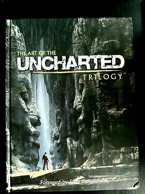 The Art Of The Uncharted Trilogy Hardcover – Very Rare • 65£
