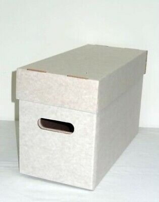 5 Standard Comic Storage Boxes (diamond) - Hold 200 Comics Each (supply961) • 28£