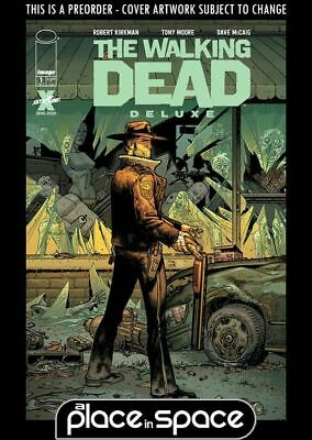 (wk41) The Walking Dead Deluxe #1b - Moore Variant - Preorder Oct 7th • 3.90£