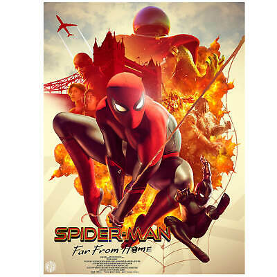 SPIDERMAN LITHO BY CARLOS DATTOLI (limited To 250)  24 By  18 Inches (114 Of 250 • 49.99£