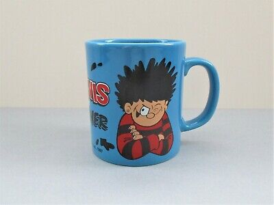 Vintage Beano Dennis And Gnasher Blue Mug Excellent Cond 1997 Collectable Gift • 6.99£