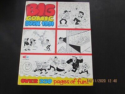 The  Big  Comic   Book    1991  Very   Good   Condition      • 2.50£