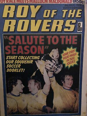 Roy Of The Rovers 8th July 1978 Magazine • 3£