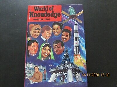 WORLD  Of  KNOWLEDGE  ANNUAL   1982 VERY  GOOD FOR  AGE     • 2.50£