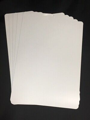 Comic Dividers - White - Pack Of 5 - Archival Quality & Acid Free • 3.99£