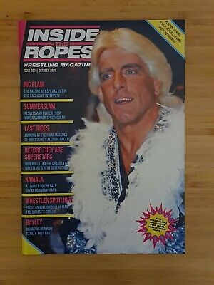 Inside The Ropes Magazine | Issue 1 | Ric Flair | WWE AEW WCW Wrestling Impact • 5£