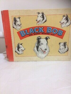 Black Bob The Dandy Wonder Dog Book 1961 • 0.99£