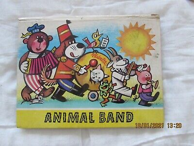 The  Animal   Band   Pop-- Up  Book  1983   Good   For Age       • 2£
