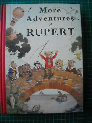 More Adventures Of RUPERT 1937 Annual Facsimile • 25£