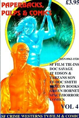 Paperback Pulp And Comic Collector Magazine Vol.4  Ex Condition  • 5.99£
