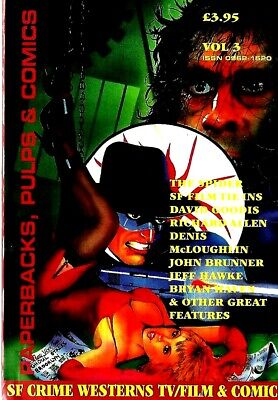 Paperback Pulp And Comic Collector Magazine Vol3  Ex Condition  • 5.99£