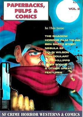 Paperback Pulp And Comic Collector Magazine Vol2  Ex Condition  • 5.99£