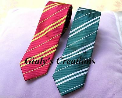 Tie Harry Potter Gryffindor Slytherin Hogwarts Griffindor Slytherin Cosplay • 25.24£