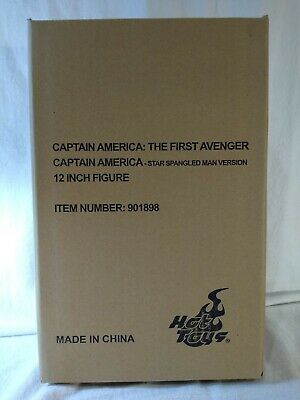 Hot Toys Captain America Star Spangled Man  MMS205 Factory Sealed Authentic • 178.81£