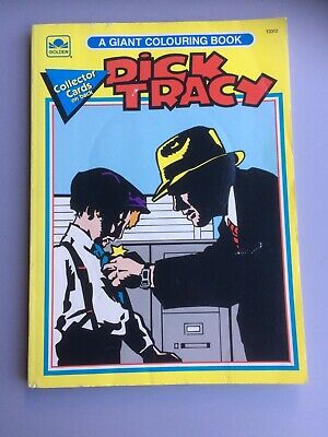 Vintage Dick Tracy A Giant Colouring Book 1990s • 15£