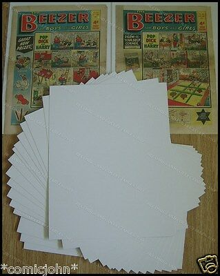 SIZE P.  BACKING BOARDS : 17 1/2  X 14 . NEWSPAPER SIZE X 100 • 9.99£