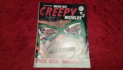 Creepy Worlds. Classic Science Fiction. Spooky Tales Books No 104 • 8£