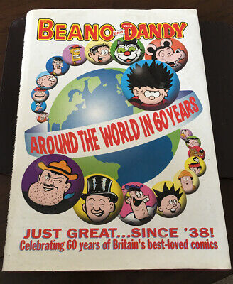Vintage Beano And Dandy Around The World In 60 Years  Album Good Condition 1998 • 0.99£