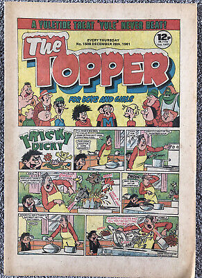 CHRISTMAS ISSUE! THE TOPPER Comic No. 1508 - 26th December 1981. DC Thomson • 2.99£