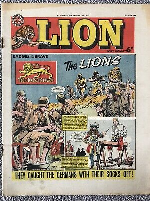 LION Comic - 18th July 1964. British Weekly - Paddy Payne Robot Archie • 2.99£