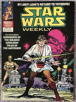 STAR WARS WEEKLY Comic # 73. July 18th 1979. UK Marvel. Guardians Of The Galaxy • 2.99£