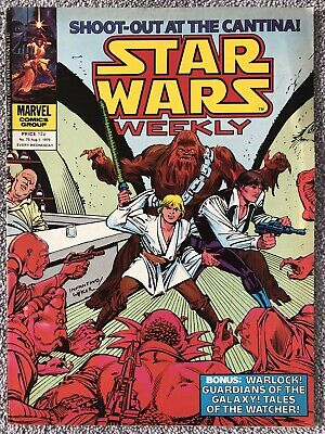 STAR WARS WEEKLY Comic # 75. August 1st 1979. UK Marvel. Guardians Of The Galaxy • 2.99£