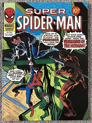 SUPER SPIDER-MAN Comic # 282 - July 5th 1978. UK Marvel - Captain America • 2.99£