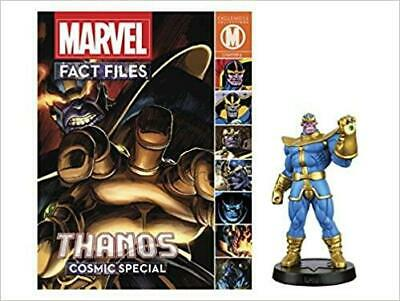 Marvel Fact Files Cosmic Special Thanos Figure And Magazine • 29.99£