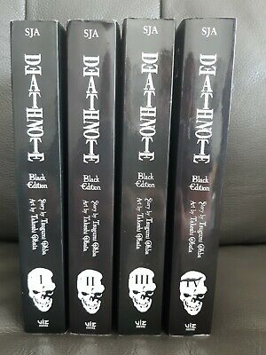 Death Note Black Edition Manga Books Volumes 1-8  • 16£