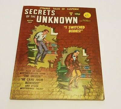 Secrets Of The Unknown. Classic Science Fiction. No 149  I SWITCHED BODIES  • 1.50£